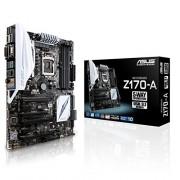 Asus Z170-A Intel Scheda Madre, DDR4 1151, Nero