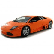 Schaalmodel Lamborghini Murcielago oranje