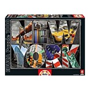 "Educa Borras 16288 ""New York Collage"" Puzzle (1000-Piece)"