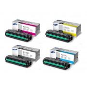 Samsung CLT-K506L CLT-C506L CLT-M506L CLT-Y506L Set of 4 Colour Toner Cartridges