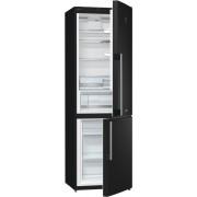 Combina frigorifica Gorenje Simplicity RK61FSY2B, 326 l, A+, 185 cm, Negru