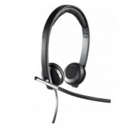 Casti Logitech H650e Stereo USB negru