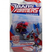 Transformers Animated Deluxe Action Figure - Autobot Leader Cybertron Mode Optimus Prime