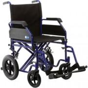 sedia a rotelle / carrozzina pieghevole da transito - trasformabile in