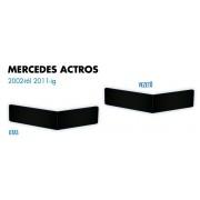 Mercedes Actros 2002-2011 ülés láb borítás PÁR FEKETE
