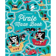 Pirate Maze Book by Kirsteen Robson