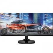 Монитор, LG 25UM58, 25 инча Wide LCD AG, IPS Panel, 14ms, 1000:1, Mega DFC, 250 cd/m2, 21:9, 2560x1080, sRGB 99%, HDMI, Tilt - 25UM58-P