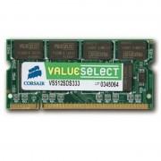 512Mo RAM PC Portable SODIMM Corsair ValueSelect VS512SDS333 DDR1 PC-2700 333MHz