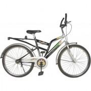 Addo India 26 Aligator Black Silver MTB Bicycle