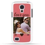 Samsung Galaxy S4 Mini - Foto case - Wit