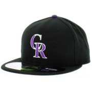 Boné New Era Colorado Rockies Authentic on Field - 7 3/8 - G