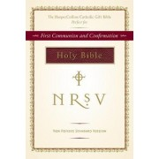 NRSV HarperCollins Catholic Gift Bible - burgundy colour by Harper Bibles