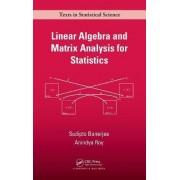 Linear Algebra and Matrix Analysis for Statistics by Sudipto Banerjee