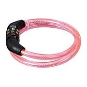 Security Plus 12027201 Children's Symbol Cable Lock Pink