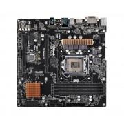 Carte mre Micro ATX ASRock Z170M Pro4S Socket 1151 Intel Z170 Express - SATA 6Gb/s + M.2 - USB 3.0 - 2x PCI-Express 3.0 16x