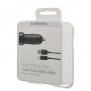 Samsung Fast Car Charger EP-LN930B - оригинално зарядно с MicroUSB кабел за кола за Samsung и мобилни телефони
