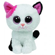Ty - Ty36086 - Peluche - Beanie Boos - Moyen - Muffin Le Chat - 15 Cm