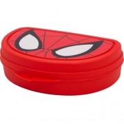 Бутербродница Человек Паук красный