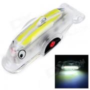 Mini 40lm White Light 4-Modo Luz de la cola de la bici de 8 LED - Multicolor