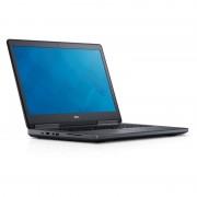 "Notebook Dell Precision 7710, 17.3"" Full HD, Intel Core i7-6920HQ, Quadro M4000M-4GB, RAM 8GB, SSD 256GB, Windows 7 Pro / 10"