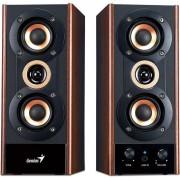 Sistem audio 2.0 Genius SP-HF800A 20W Cherry wood