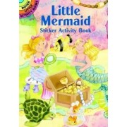 Little Mermaid Sticker Activity Book by Cathy Beylon