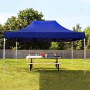 tendapro.it 3x4,5 m Gazebo Pieghevole, ALU PROFESSIONAL, blu scuro