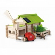 Jeujura Ecological Cottage - 145 Piece Wooden Construction Set