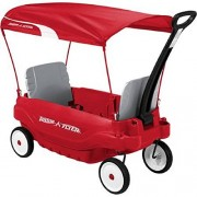 All Weather Fun Radio Flyer Deluxe Family Canopy Wagon