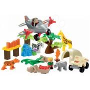 Écoiffier joc de construit pentru copii Abrick safari 3073