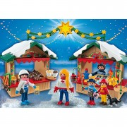 Playmobil Christmas At The Christmas Market (5587)