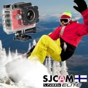 SJCAM SJ5000X ELITE WiFi Actionkamera - Röd