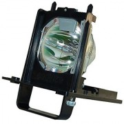 AuraBeam Professional Mitsubishi WD-73840 Television Replacement Lamp with Housing (Powered by Philips)