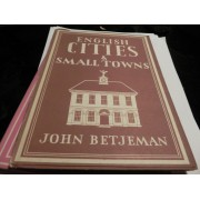 English Cities And Small Towns