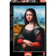 Educa - 16011 - Puzzle Classique - La Joconde Du Musée Du Prado - 1500 Pièces