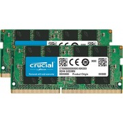 Crucial 8GB Kit 4GBx2 DDR4 2133 MT s PC4-17000 SODIMM 260-Pin Memory - CT2K4G4SFS8213