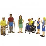 Persoane cu handicap set de 6 figurine - Miniland