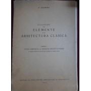 Georges Gromort - Culegere de elemente din arhitectura clasica