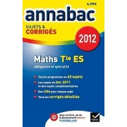 Annabac 2012 Maths Terminale Es