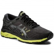 Обувки ASICS - Gel-Kayano 24 T749N Black/Green Gecko/Phantom 9085