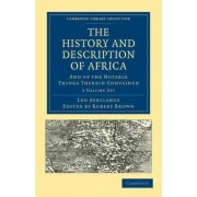 The History and Description of Africa 3 Volume Paperback Set by Leo Africanus