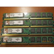 Ram Barrette Mémoire Kingston 1Go DDR2 KVR800D2N6/1G PC2-6400 CL6 NEUF