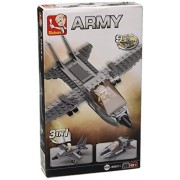 Building Blocks Aircraft Carrier Series Fighter Jet 3-in-1