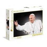 Clementoni - 35007.0 - Puzzle - Pape François - 500 Pièces