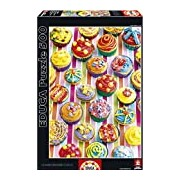 Educa 15549 - Colorful Cupcakes, Howard Shooter Studios - 500 pieces - Puzzle