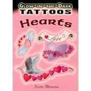 Glow-in-the-Dark Tattoos: Hearts by Scott Altmann