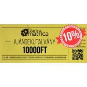 Ajándék kártya 10000FT - AKCIÓ!