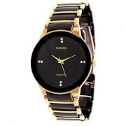 Iik Collection Golden Analog Watch By Hans-005