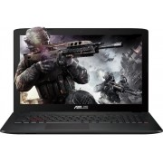 Laptop ASUS ROG GL552VW, Intel Core i7-6700HQ, 15.6'' FHD, 8GB, 1TB, GeForce GTX 960M 4GB, FreeDos, Black-Grey