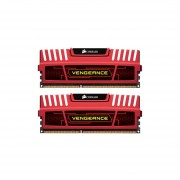 Corsair Vengeance Red 16GB (2x8GB) DDR3 1600 MHz (PC3 12800) Desktop Memory (CMZ16GX3M2A1600C10R)